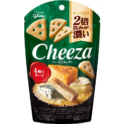 Glico Raw Cheese Cheeza Four k...