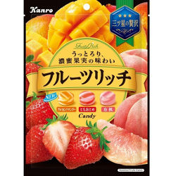Kanro Fruit Rich Candy 70g