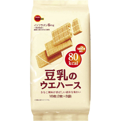 Bourbon Soy Milk Wafer 16 Shee...