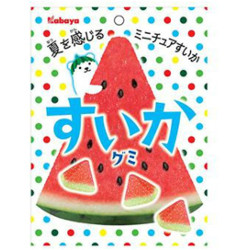 Kabaya Watermelon Gummy 50g