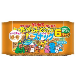 Ginbis Tabekko Animal Snack Li...