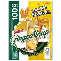 Meiji Ginger Ale Up 100g