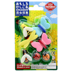 Iwako Insect Collecting Eraser