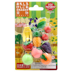 Iwako Fruits Eraser