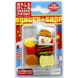 Iwako Humburger Shop Eraser