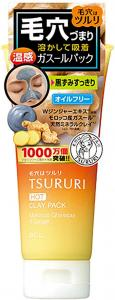B&C Labo Tsururi Pore Clear Hot Clay Pack 100g