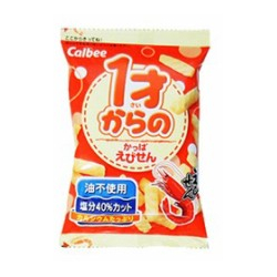 Calbee Kappa Ebisen Shrimp Rice Cracker From 1Years Old 32g